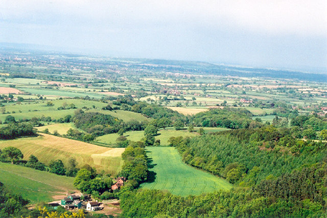 View from Earl's Hill, adjacent to Pontesford Hill, Shropshire
