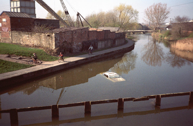 Grand Union Canal Leicester