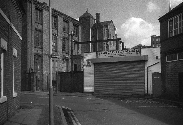 Factory  Rydal Street Leicester