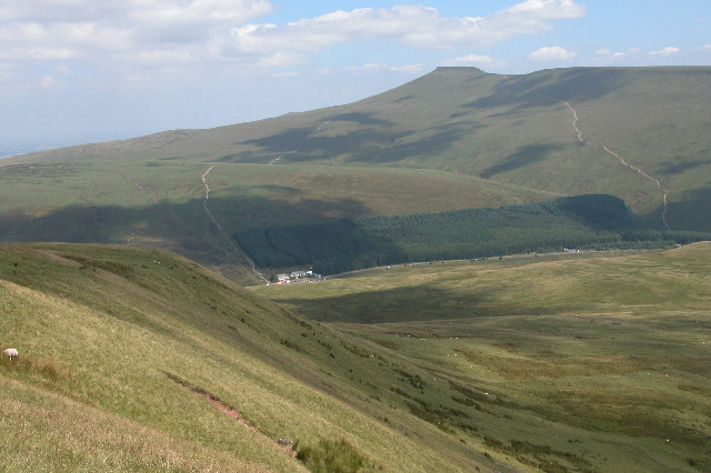 Storey Arms and the Brecon Beacons