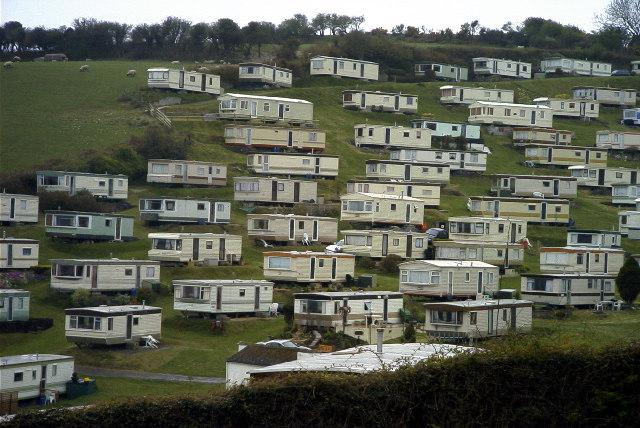 Caravan Park Beer South Devon