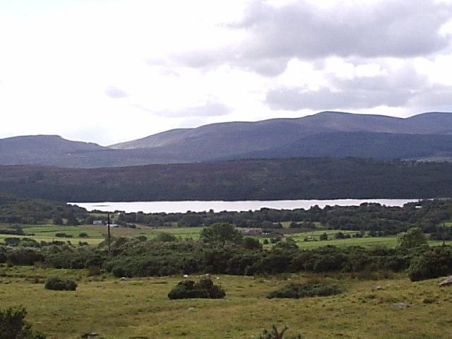 Looking towards Loch Migdale