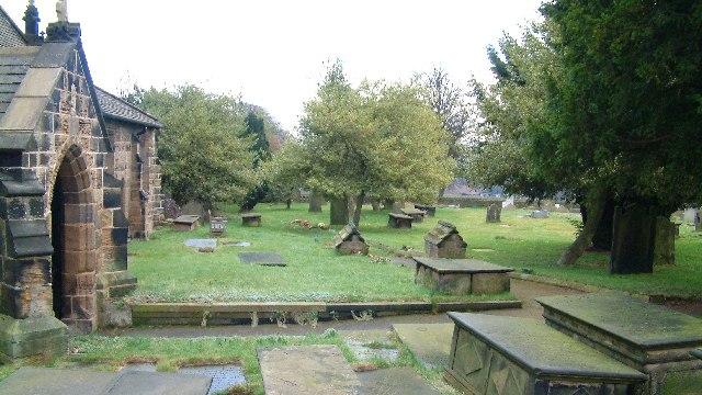 Woolley church yard