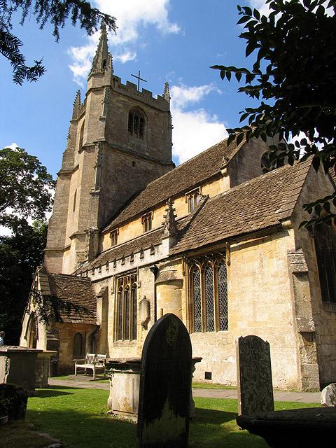 St Andrew's Church: Castle Combe