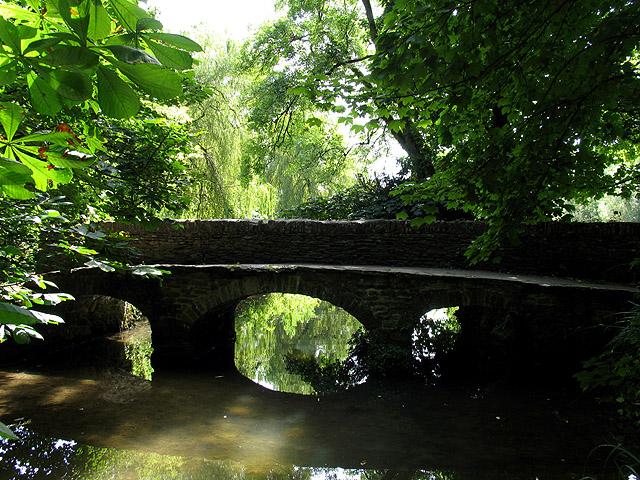 The Roman Bridge: Castle Coombe