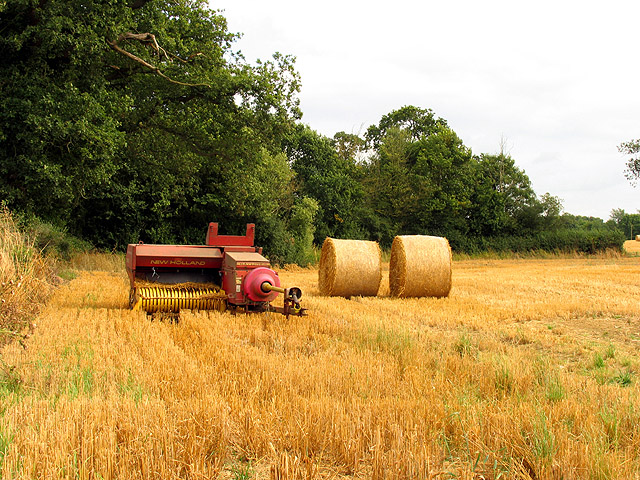 Farmland and Machinery near Littleton Drew