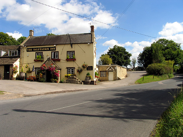The Gibb: near Castle Combe and Littleton Drew