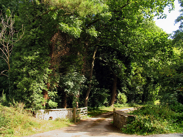 Entrance to Gatcombe Mill