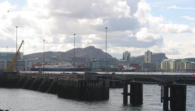 Leith Docks.