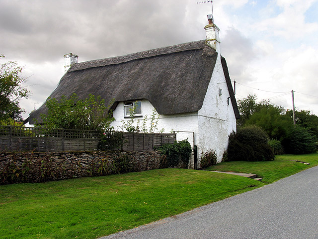 Thatched Cottage at Nettleton Green