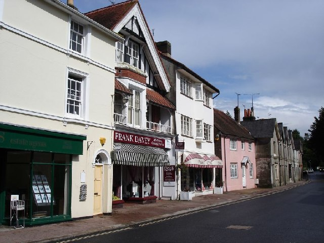 Buildings opposite South Avenue, Hurstpierpoint
