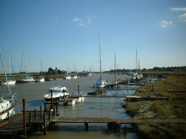 River Blyth from the Southwold to Walberswick footbridge
