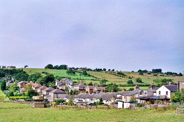 Rear of cottages, Lammack Road, Lammack