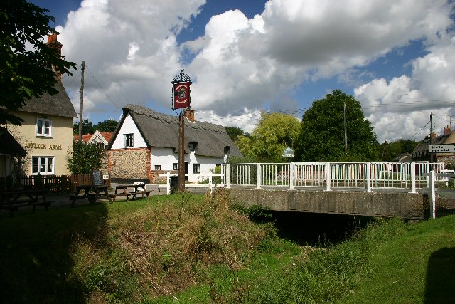 Dalham village