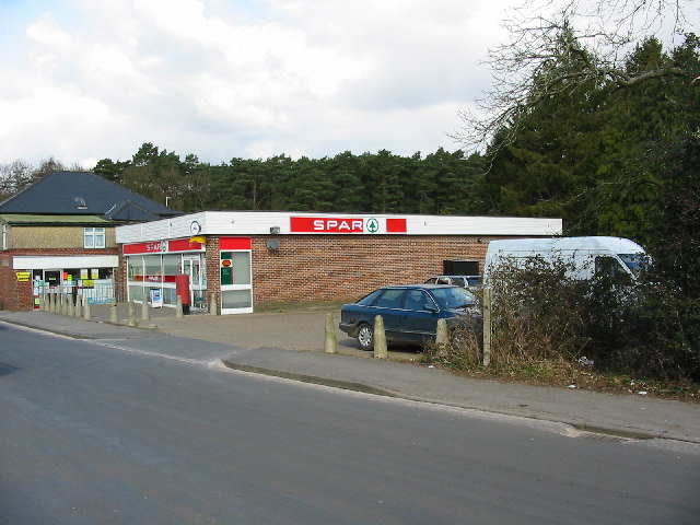 The village store and post office, Alderholt.