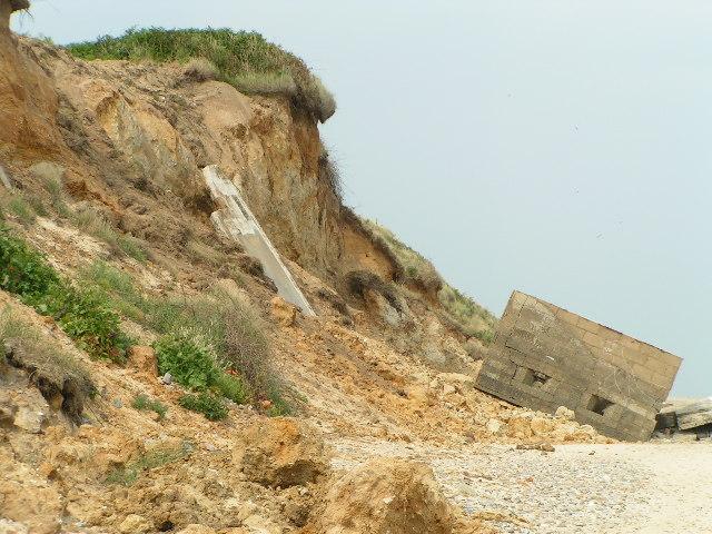 Coastal Erosion at Thorpeness, Suffolk