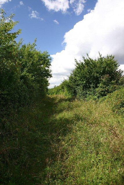 Footpath at Dunstall Green