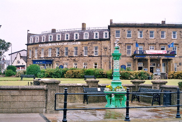 North Euston Hotel and victorian fountain
