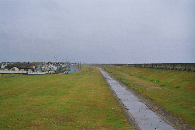 Sea defences