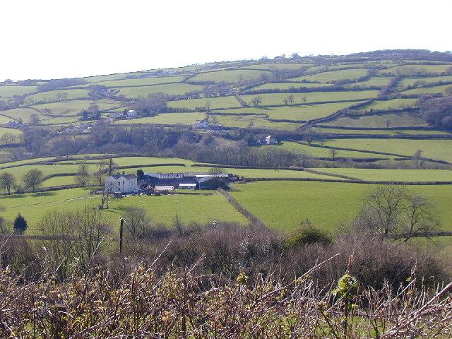 Gwendraeth Valley from Mynydd-y-Garreg
