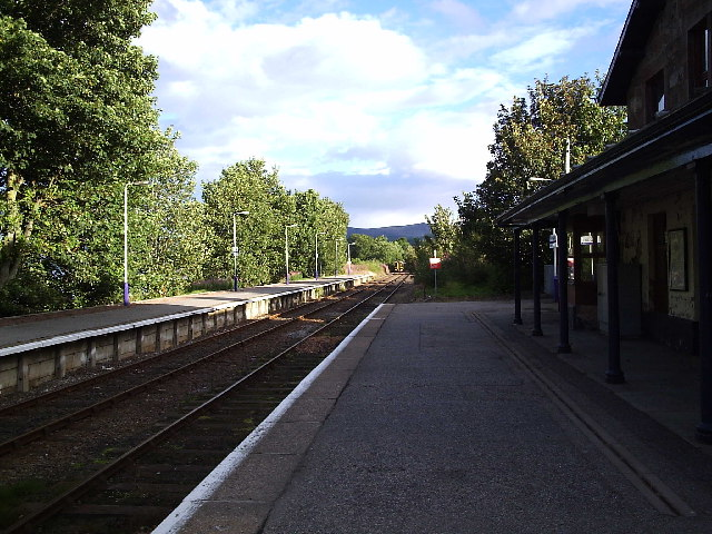 Ardgay Railway Station