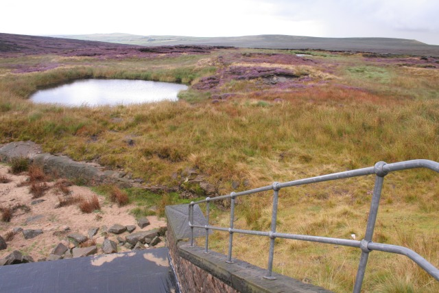 Outlet, Little Moor Clough.