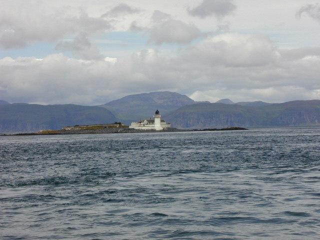 Fladda Lighthouse from Sky Catcher