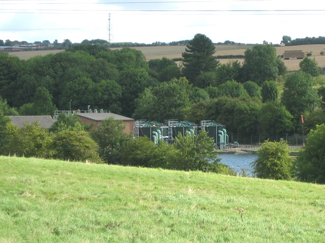 Saltersford Water Treatment Works near Grantham