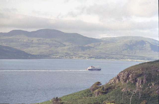 Sound of Mull and Ardnamurchan