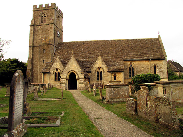 St Mary's at Hullavington