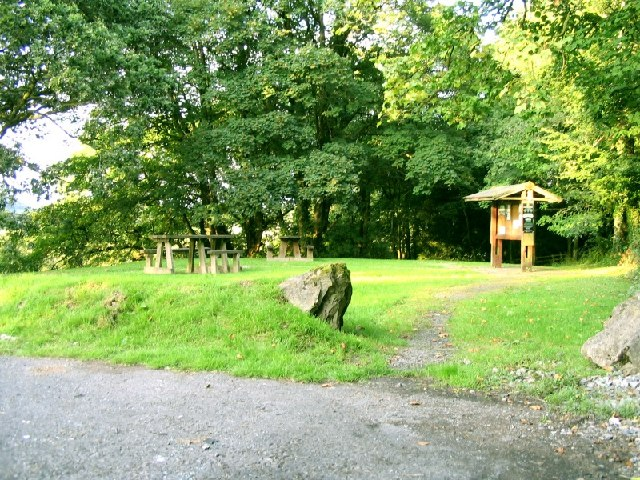 Car Park and Picnic Area on the B4300