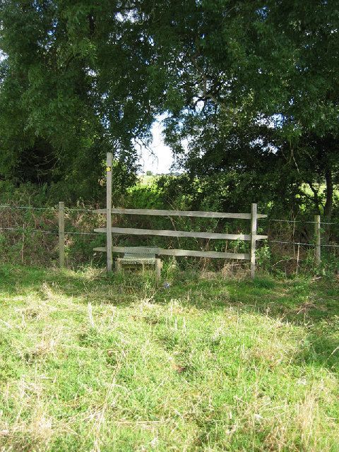 Over the stile and into the next square