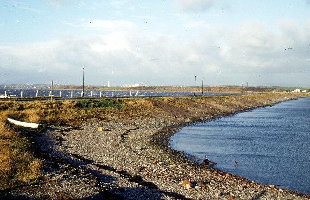 Roa Island causeway