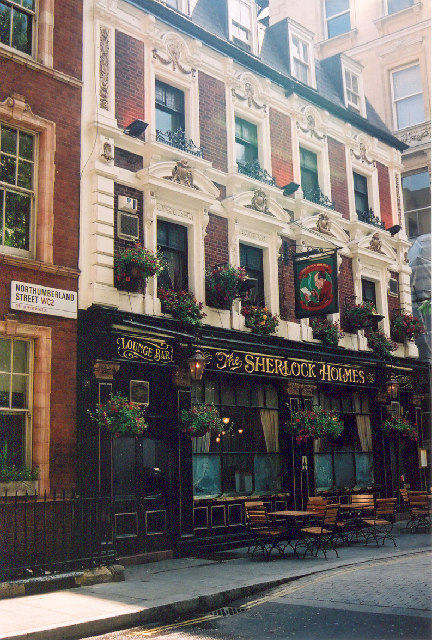 The Sherlock Holmes, Northumberland Street, London, WC2