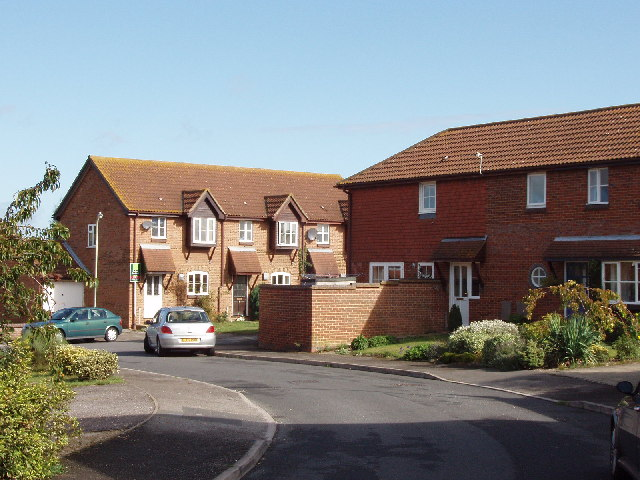 Houses in Astley Road, Thame
