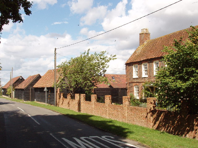 House and barns at Stockwell Lane