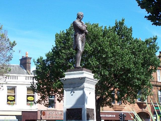 Burns statue, Ayr