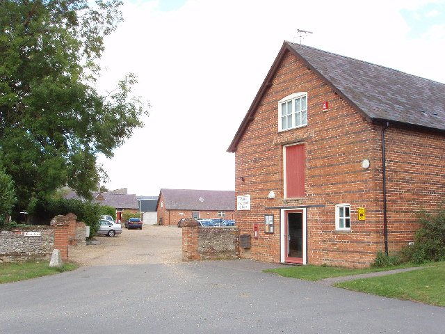 Manor Farm and courtyard, Aston Sandford