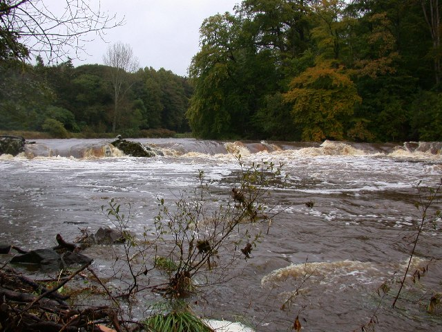 The Breakers rapid, River Ayr