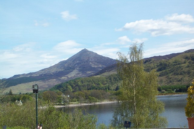 Schiehallion from Hotel car park
