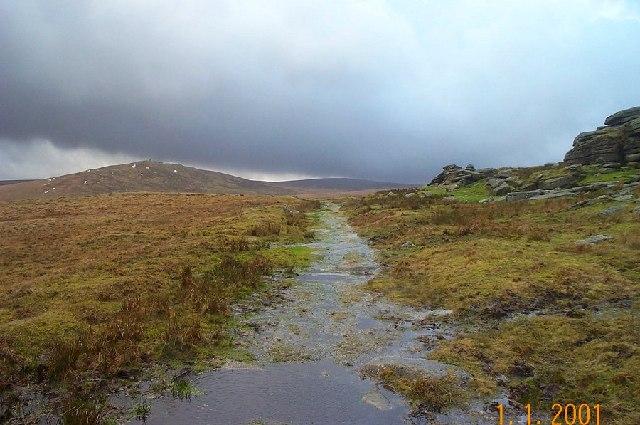 On the ridge near Oke Tor - Dartmoor