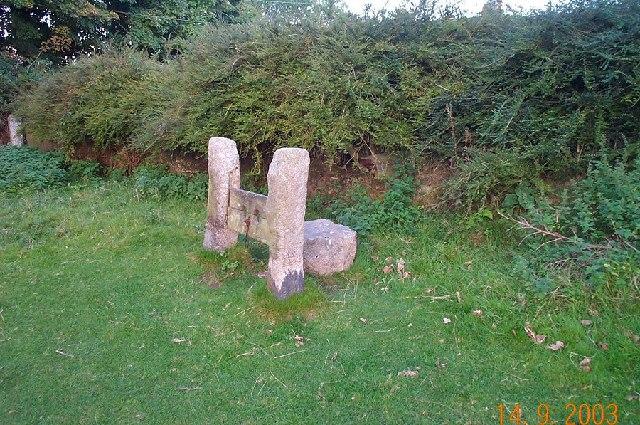 Village stocks - Belstone, Dartmoor