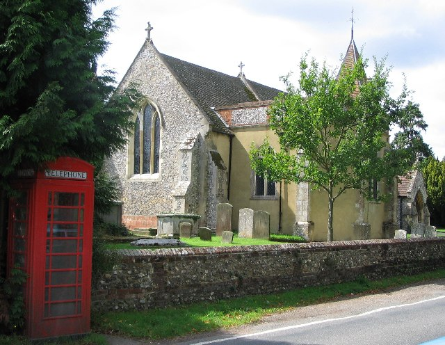 St Nicholas' Church, Rotherfield Greys