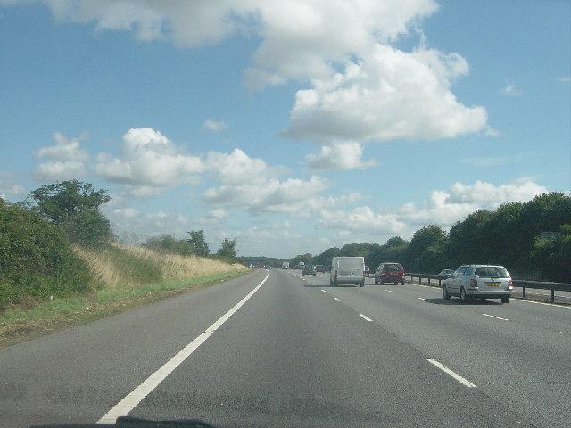 The M4 ( Reading to Heathrow)
