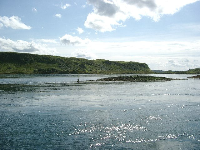 Cuan Sound, south east end
