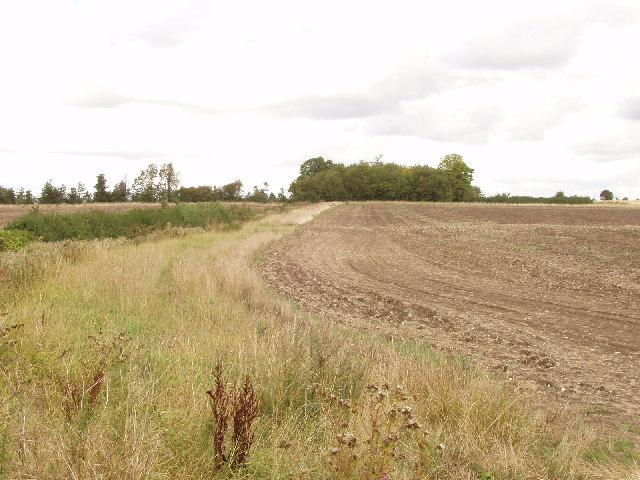 Ploughed field near Aston Sandford