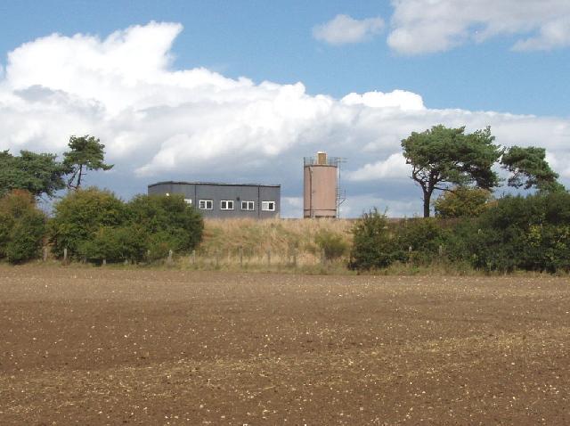 Haddenham sewage treatment works