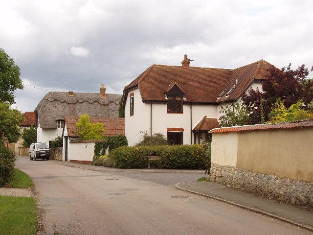Houses in Townside, Haddenham