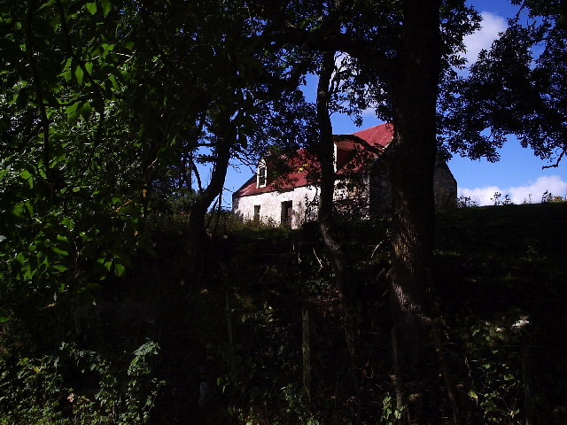 An old croft house