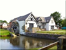 SJ3657 : 17th Century Water Mill by Roger May